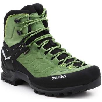 Sapatos Homem Sapatos de caminhada Salewa MS Mtn Trainer Mid Gtx Preto,Verde