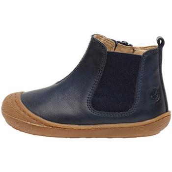 Sapatos Rapaz Botas baixas Naturino - Beatles blu SALLY-0C02 BLU