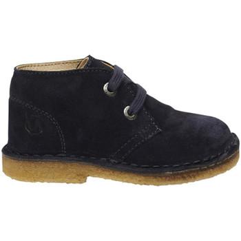 Sapatos Rapaz Botas baixas Naturino - Polacchino blu MILKY-0C01 BLU