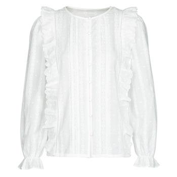 Textil Mulher Tops / Blusas Betty London NIAMAIM Branco