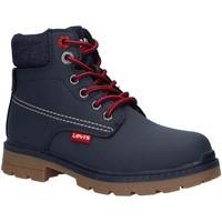Sapatos Rapaz Botas baixas Levi's VFOR0050S NEW FORREST Azul