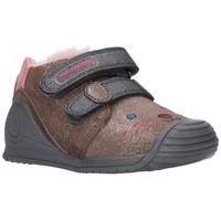 Sapatos Rapariga Botas baixas Biomecanics 201114 MARENGO Niña Gris gris