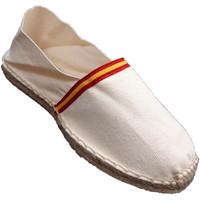 Sapatos Alpargatas Made In Spain 1940 Esparto alpargatas bandeira da Espanha M beige