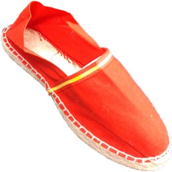 Sapatos Alpargatas Made In Spain 1940 Esparto alpargatas bandeira da Espanha M rojo