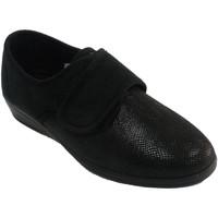 Sapatos Mulher Chinelos Doctor Cutillas Chinelos de velcro mulher com estampa de negro