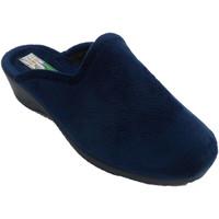 Sapatos Mulher Chinelos Made In Spain 1940 Chinelos femininos abrindo por trás em c azul