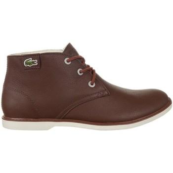 Sapatos Mulher Botas baixas Lacoste Sherbrook HI SB Castanho