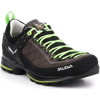 Sapatos Homem Fitness / Training  Salewa MS Mtn Trainer 2 L Preto,Castanho