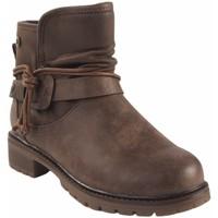 Sapatos Rapariga Botas baixas Xti Espólio de menina  57255 marrom Marron