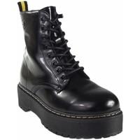 Sapatos Mulher Botas baixas Isteria 20290 Negro