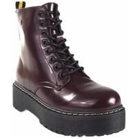 Sapatos Mulher Botas baixas Isteria 20290 Rojo