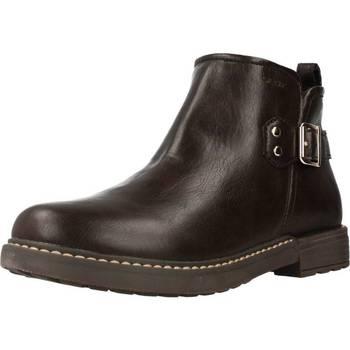 Sapatos Rapariga Botas baixas Geox J ECLAIR GIRL Marron