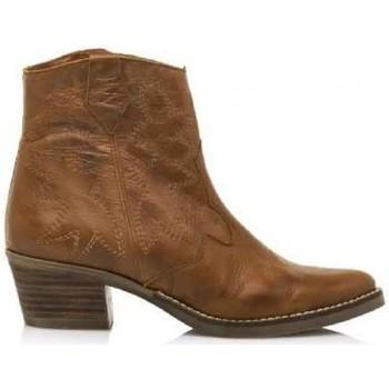Sapatos Mulher Botins MTNG 58963 Castanho