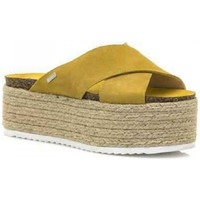 Sapatos Mulher Alpargatas MTNG 51092 Amarelo