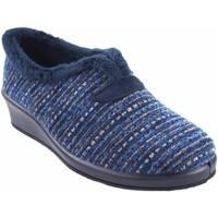 Sapatos Mulher Chinelos Garzon Vá para casa Sra.  1325.525 azul Bleu