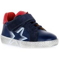 Sapatos Rapaz Botas baixas Grunland BLU NOON Blu
