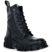 Sapatos Botas baixas New Rock WALL ASA LUXOR NEGRO Nero