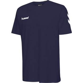 Textil Criança T-Shirt mangas curtas Hummel T-shirt enfant  hmlGO cotton bleu marine