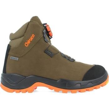 Sapatos Homem Sapatos de caminhada Chiruca Botas  Alano Force Boa Hi Vis 08 Gore-Tex Verde