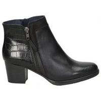 Sapatos Mulher Botins Dorking BOTINES  D8296 SEÑORA NEGRO Noir