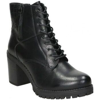 Sapatos Mulher Sapatilhas Chika 10 BOTINES CHK10 DORIAN 02 MODA JOVEN NEGRO Noir