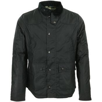 Textil Homem Parkas Barbour Reelin Wax Jacket Preto