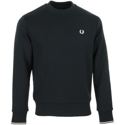 Textil Homem Sweats Fred Perry Crew Neck Sweatshirt Azul