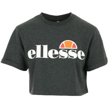 Textil Mulher T-Shirt mangas curtas Ellesse Alberta Crop T-Shirt Cinza