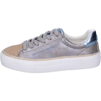 Sapatos Rapariga Sapatilhas Silvian Heach Sneakers BK489 Prata