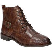 Sapatos Mulher Botins D'angela BOTINES  DHO18092 MODA JOVEN MARRON Marron