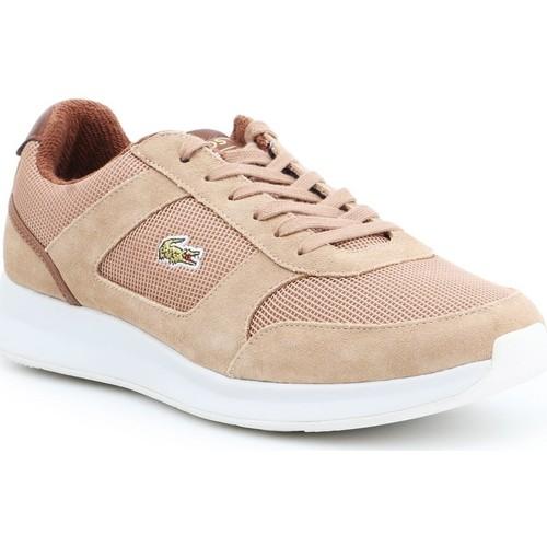 Sapatos Homem Sapatilhas Lacoste Joggeur 317 3 SPM LT 7-34SPM00174D8 brown