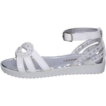 Sapatos Rapariga Sandálias Fiorucci BK504 Branco
