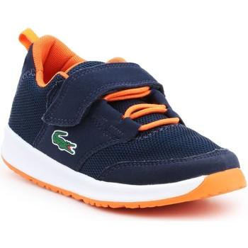 Sapatos Rapaz Sandálias Lacoste Light 217 1 SPC 7-33SPC1005DT7 granatowy, orange