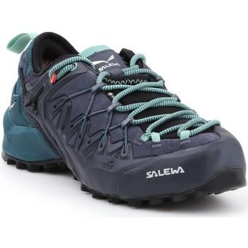 Sapatos Mulher Sapatos de caminhada Salewa WS Wildfire Edge GTX 61376-3838 black, green, granatowy