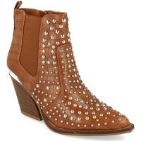Sapatos Mulher Botins Buonarotti 1A-0390 Camel