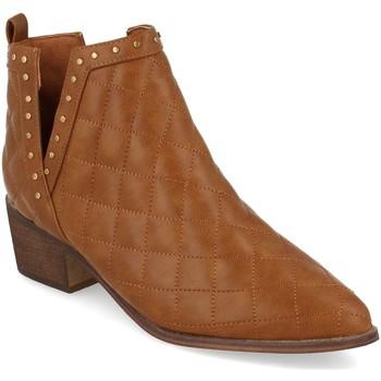 Sapatos Mulher Botins Buonarotti 1A-0393 Camel