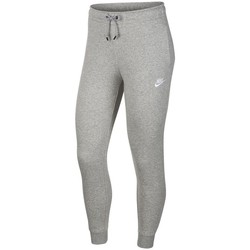 Textil Mulher Calças Nike Essential Pant Reg Fleece Cinzento
