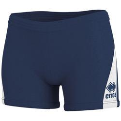 Textil Mulher Shorts / Bermudas Errea Short femme  kiara marine/blanc
