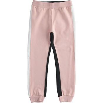 Textil Rapariga Calças de treino Ido 41377 Rosa