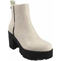 Sapatos Mulher Botas baixas D'angela Lady saque  18203 dcz branco Branco