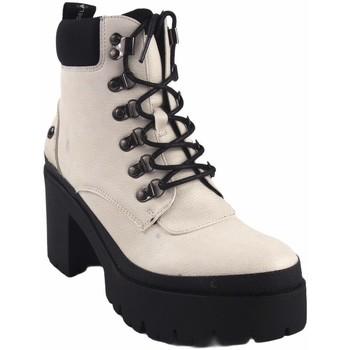 Sapatos Mulher Botas baixas D'angela Lady saque  18204 dcz branco Branco