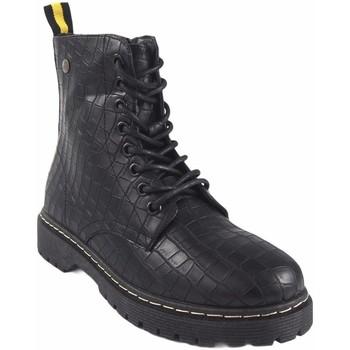Sapatos Mulher Botas baixas Isteria 20285 Negro