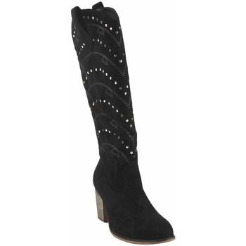 Sapatos Mulher Multi-desportos Olivina Bota de senhora BEBY 19040 preta Preto