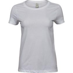 Textil Mulher T-Shirt mangas curtas Tee Jays T5001 Branco