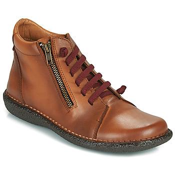 Sapatos Mulher Botas baixas Casual Attitude NELIO Camel