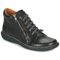 Sapatos Mulher Botas baixas Casual Attitude NELIO Preto
