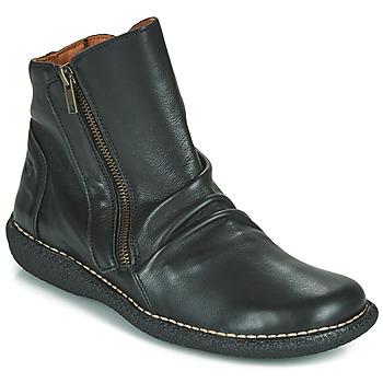 Sapatos Mulher Botas baixas Casual Attitude NELIOO Preto