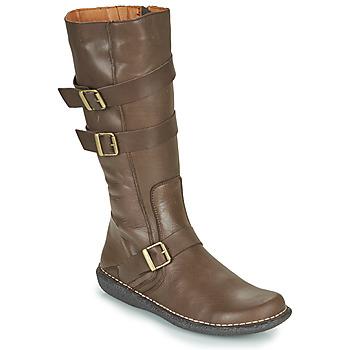 Sapatos Mulher Botas Casual Attitude NIBOOT Castanho