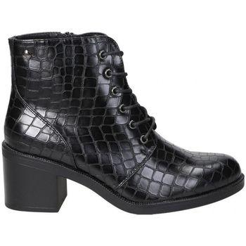 Sapatos Mulher Botins D'angela BOTINES  DHO18088 MODA JOVEN NEGRO Noir