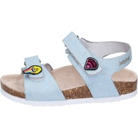 Sapatos Rapariga Sandálias Smiley BK510 Azul